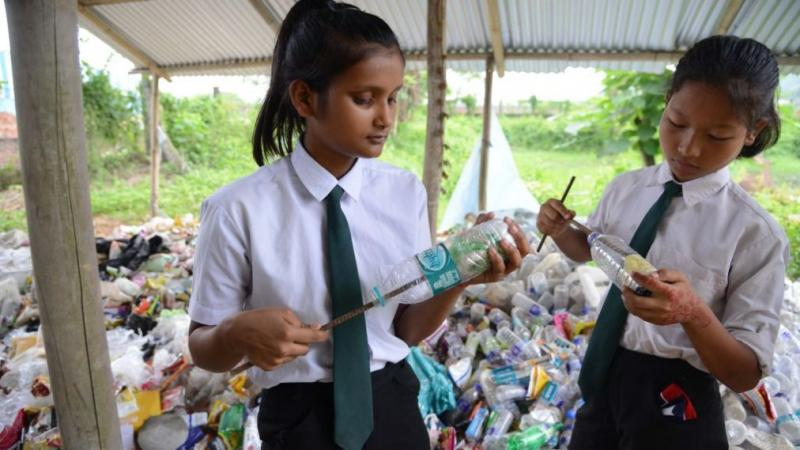 INDIA-ENVIRONMENT-EDUCATION