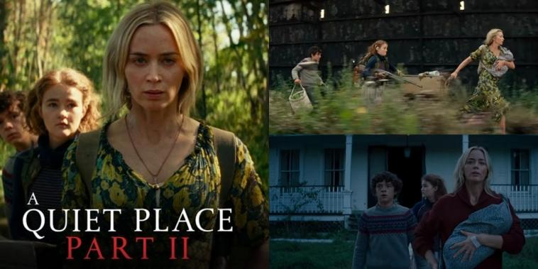 trailer a quiet place 2